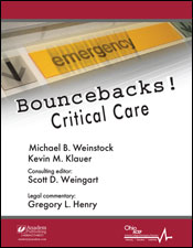 Bouncebacks! Critical Care Cover